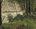 Georges Seurat - Grassy Riverbank PC 21.jpg
