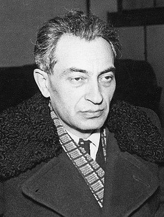 Ernő Gerő - Gerő in 1955