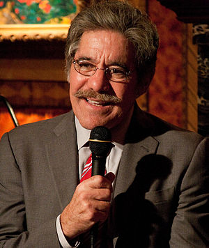 English: Geraldo Rivera at a Hudson Union Soci...