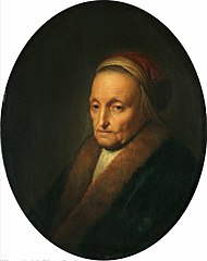 Bust of Rembrandt's Mother