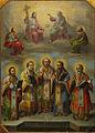 Gheorghe Tattarescu - Sfanta Treime si Sfintii Ierarhi.jpg