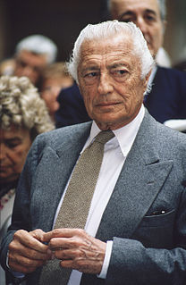 Gianni Agnelli Italian businessman