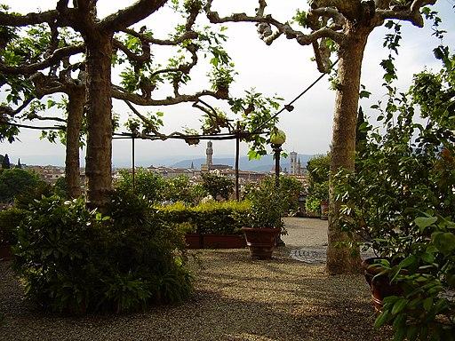 Giardino delle Rose, Oltrarno, Firenze