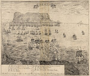 Capture of Gibraltar - Image: Gibraltar 1704
