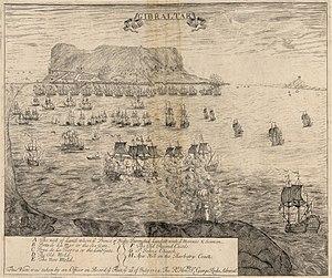 Capture of Gibraltar - Image: Gibraltar 1704