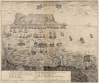 Capture of Gibraltar siege