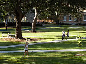 Tulane University - Gibson Quadrangle