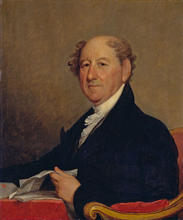 Rufus King American lawyer, politician and diplomat (1755–1827)