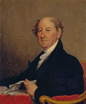 Christopher Gore - Rufus King became a lifelong friend of Gore's while they were at Harvard.