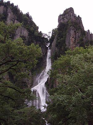 Japan's Top 100 Waterfalls - Image: Ginganotaki