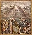 Giorgio vasari e aiuti, Flotta della Lega davanti a Messina, 1572-73, 01.jpg