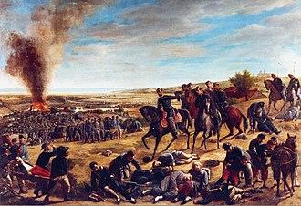 Battle of Castelfidardo - Image: Giovanni Gallucci La Battaglia di Castelfidardo palazzo comunale di Castelfidardo