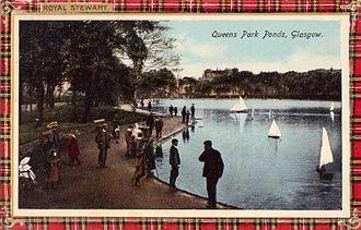 Queen's Park, Glasgow - Image: Glasgow. Queen's Park Ponds