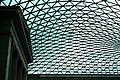Glass and steel roof of the Great Court, British Museum, London - panoramio (15).jpg