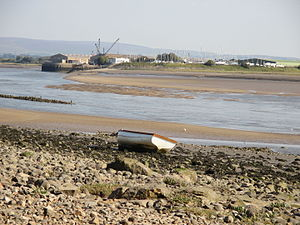 Glasson Dock - Image: Glasson Dock from Bazil Point