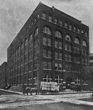 Globe Tobacco Building - Globe Tobacco Building, c. 1891