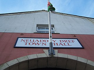 Glynneath small town lying in the county borough of Neath Port Talbot, Wales