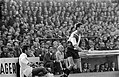 Go Ahead tegen Feyenoord 0-1. Links Jan Veenstra, rechts Ove Kindvall, Bestanddeelnr 922-8443.jpg