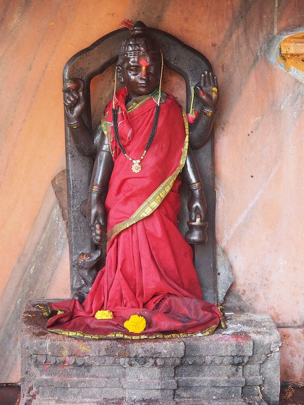 Godavari Statue at Gangadwar Triambak