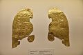 Gold Foil Horse Head Armor Ornament in the Shape of Owl.jpg