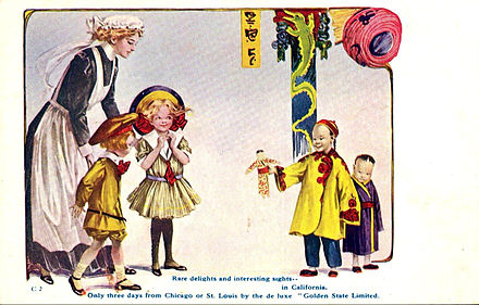 1909 postcard ad for the train. Golden State Limited postcard ad 1909.JPG