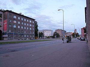 Kompassi - Image: Gonsiori street in Tallinn