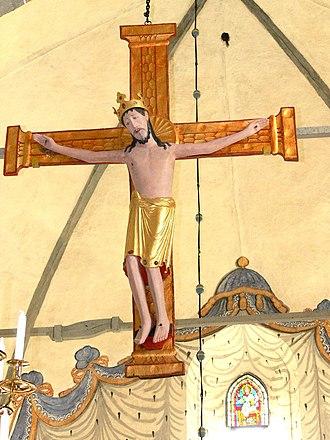 Ekeby Church - The Romanesque triumphal cross
