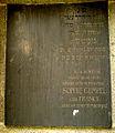 Grabmal für Hermann Gumpel Grabtafel Frau und Mutter Sophie geborene Franck gestorben 27. September 1907.jpg