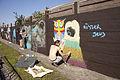 Graffiti at Heidestraat (Ledeberg).jpg