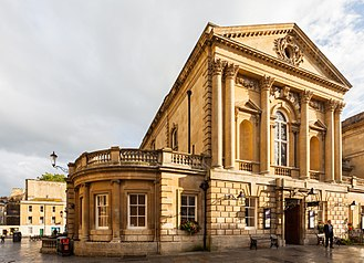 Roman Baths (Bath) - The entrance to the Roman Baths
