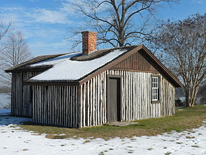 City Point, Virginia - Cabin occupied by General U.S. Grant during the siege.