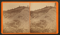 Gravel bank, Shoshone, by Davis Brothers.png