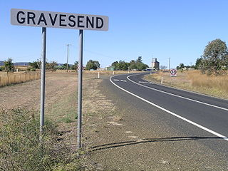 Gravesend, New South Wales Town in New South Wales, Australia