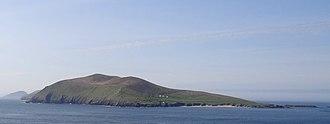 Great Blasket Island - Great Blasket from Dunmore Head