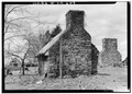 Green Hill Plantation, Laundry, State Route 728, Long Island, Campbell County, VA HABS VA,16-LONI.V,1C-2.tif