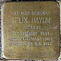 Grevenmacher, Stolperstein 03 Felix Hayum.jpg