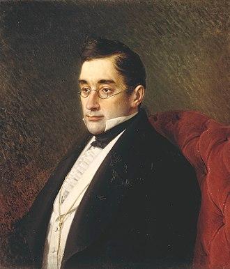 Alexander Griboyedov - Portrait by Ivan Kramskoi