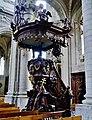 Grimbergen Basiliek Sint Servaas Innen Kanzel 4.jpg
