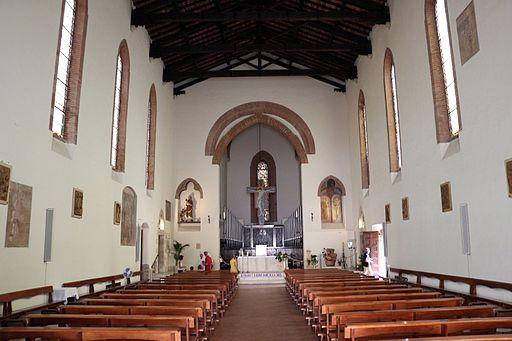 Grosseto, sChiesa di San Francesco, interiore