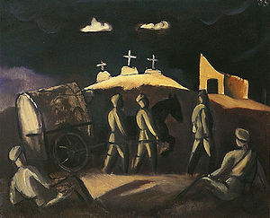Jāzeps Grosvalds - Image: Grosvalds White Crosses