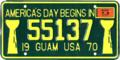 Guam license plate 1970 55137.png
