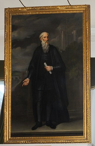 Richard Watts - As portrayed in Rochester Guildhall.