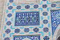 Gur-e Amir - Exterior views 93 detail.JPG