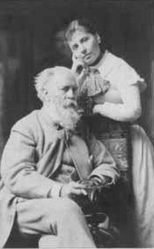 Gustav Richter (artist) - Gustav Richter and his wife Cornelie