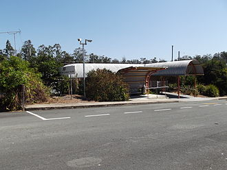 Gympie North railway station - Station front in September 2012