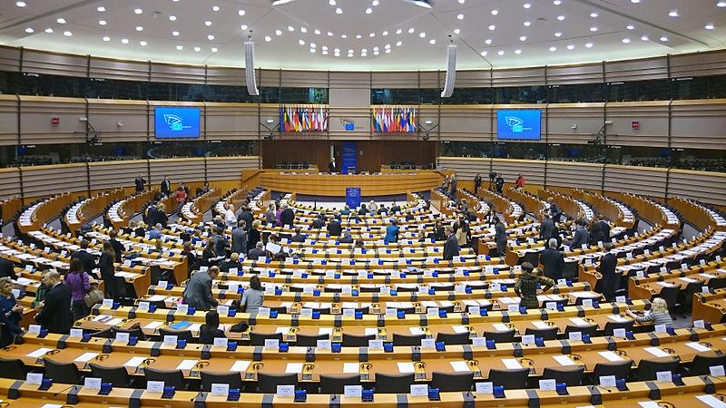 Fichier:Hémycicle du Parlement européen (Bruxelles).JPG