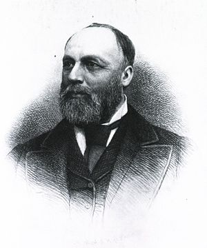 William A. Hammond - W. A. Hammond, engraving by H. B. Hall