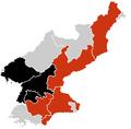H1N1 North korea map.png