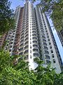 HK Bonham Road Sunday 豫苑 Euston Court high rises.JPG
