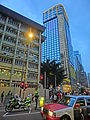 HK CWB 銅鑼灣道 Tung Lo Wan Road evening view Leighton Road Regal Hong Kong Hotel Nov-2013.JPG